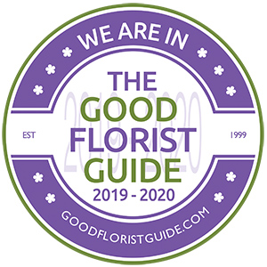 We are in The Good Florist Guide