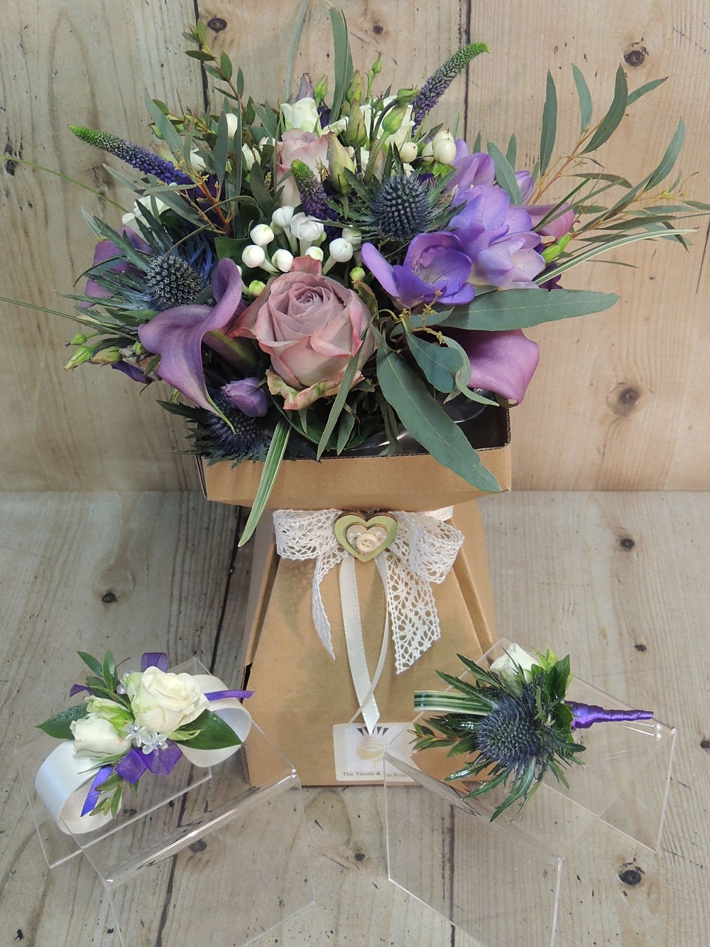 Mull Wedding Oban Florist
