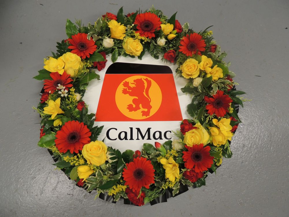 Caledonian MacBrayne Memorial Wreath
