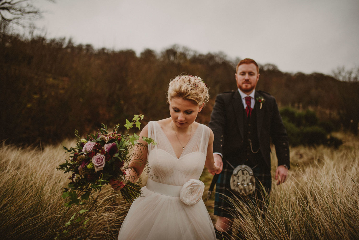Connie and Neil Oban Wedding Florist